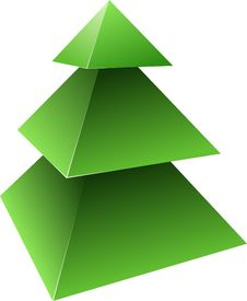 Free Pine Tree. Stock Photo - 17672170