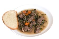 Free Meat Soup Stock Image - 17672471