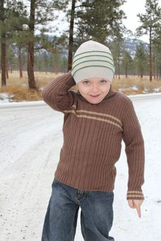 Free Winter Boy Royalty Free Stock Image - 17672526