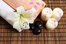 Free Spa Background Royalty Free Stock Images - 17672679