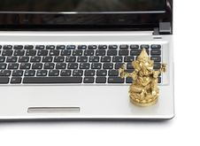 Laptop Isolated Royalty Free Stock Photo