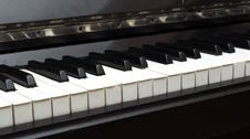 Free Piano Key Close Up Shot Stock Images - 17673344