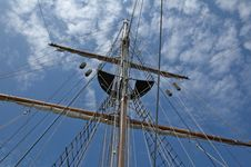 Free Mast And Sky Stock Image - 17673451
