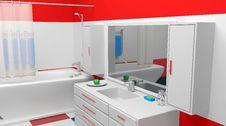 Free Modern Bathroom Stock Images - 17673594