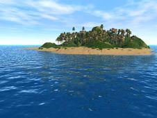 Fantastic Island Stock Image