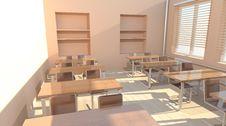 Free Empty Classroom Stock Image - 17673751