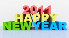 Free 2011 New Year Stock Photography - 17673902