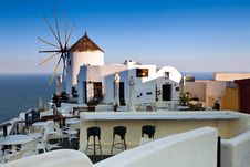 Free The Hotel View On Santorini Royalty Free Stock Photography - 17673967