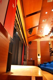 Free Theater Seats Royalty Free Stock Photography - 17674367