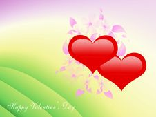 Free Valentine S Greeting Card Stock Photos - 17674573
