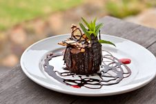Free Chocolate Mousse Dessert Royalty Free Stock Image - 17675206