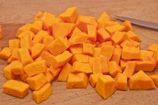 Free Pieces Of Pumpkin Stock Photos - 17675253