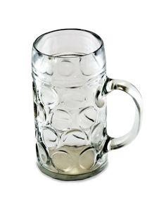 Empty One Liter Beer Mug Royalty Free Stock Photo