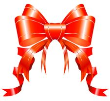 Free Red Ribbon Stock Photography - 17676002