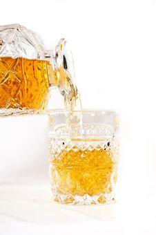 Free Bottle Of Whisky Stock Photography - 17676592