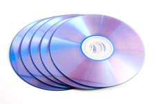 Free Compact Discs Royalty Free Stock Photo - 17676825