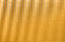 Free Yellow Corrugated Royalty Free Stock Photo - 17676865