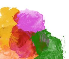 Abstract Watercolor Hand Painted Background Royalty Free Stock Images