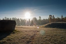 Boulder-park In Minsk Royalty Free Stock Photography