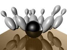Free Bowling Royalty Free Stock Photo - 17677605