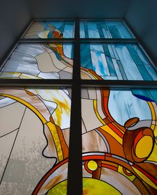 Free Stained-glass Window Royalty Free Stock Photo - 17677665