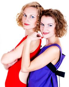 Beauty Sisters Stock Photography