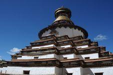 Free Tibet - Gyantse Kumbum Stock Photos - 17677843