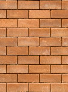 Free Red Brick Wall Texture Stock Photos - 17678063