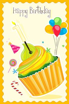 Free Happy Birthday Card Royalty Free Stock Photo - 17678185