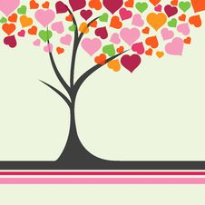 Free Love Tree Royalty Free Stock Images - 17678209
