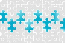 Free Puzzled Business Card Royalty Free Stock Image - 17678246