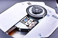 Free Disk Drive Close Up Stock Image - 17678841