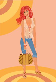 Free Fashion-girl Stock Image - 17679061