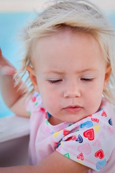 Free Cute Tender Baby Girl Royalty Free Stock Image - 17679066