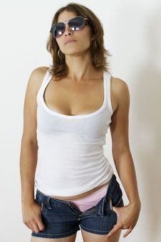 Free Hispanic Woman Royalty Free Stock Photos - 17679998