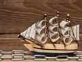 Free Model Ship Royalty Free Stock Photos - 17683108