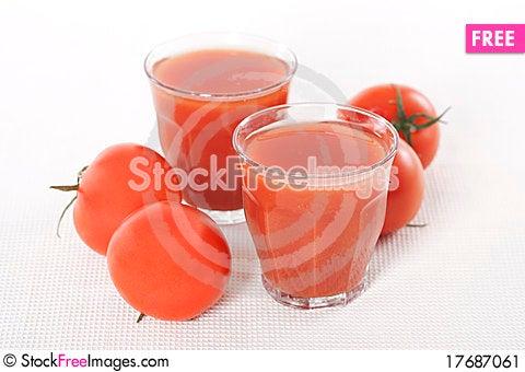 Free Fresh Tomato Juice Stock Image - 17687061