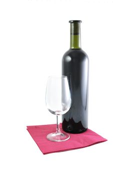 Free Wine And Glass Royalty Free Stock Photos - 17680488