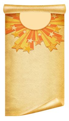 Paper Background.Grunge Stock Image