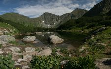 Free Lake In Tatra Mountains Royalty Free Stock Images - 17680689