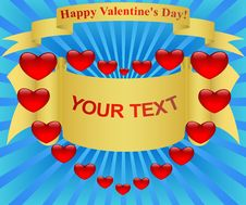Free Happy Valentine S Day! Royalty Free Stock Photo - 17681025