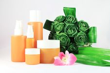 Free Cosmetic Packaging. Royalty Free Stock Photos - 17681638