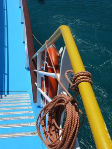 Free Steamship Stairs Royalty Free Stock Photos - 17682008