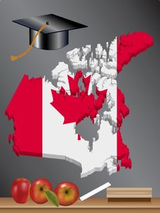 Canadian Education Royalty Free Stock Image
