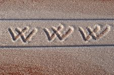 Free WWW Handwritten Stock Photography - 17682582