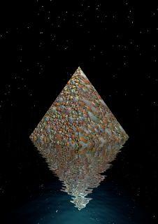 Free Pyramid Royalty Free Stock Photos - 17682828