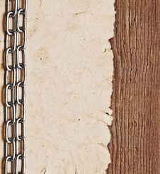 Free Paper On Border Wood Background Stock Image - 17683051