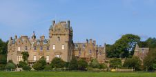 Scottish Castle Royalty Free Stock Photography