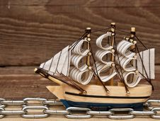 Free Model Ship Royalty Free Stock Photos - 17683108