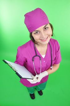 Free Attractive Lady Doctor Stock Photos - 17683143